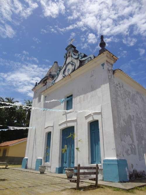 Church Baroque Brazil Bahia Discovery