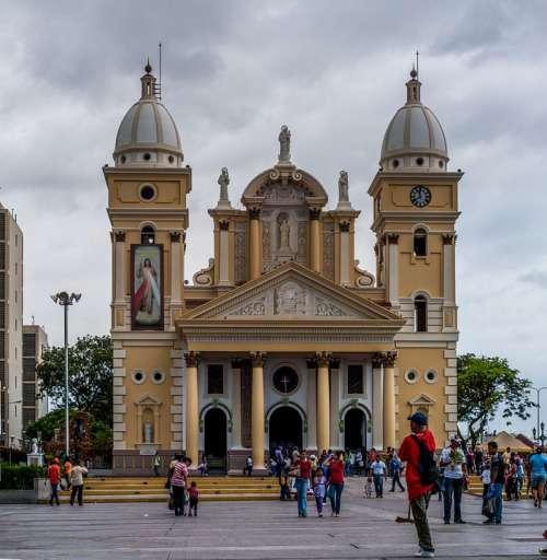 Church Basilica Of Chiquinquira Building Venezuela