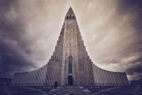 Church Reykjavík Building Iceland Architecture