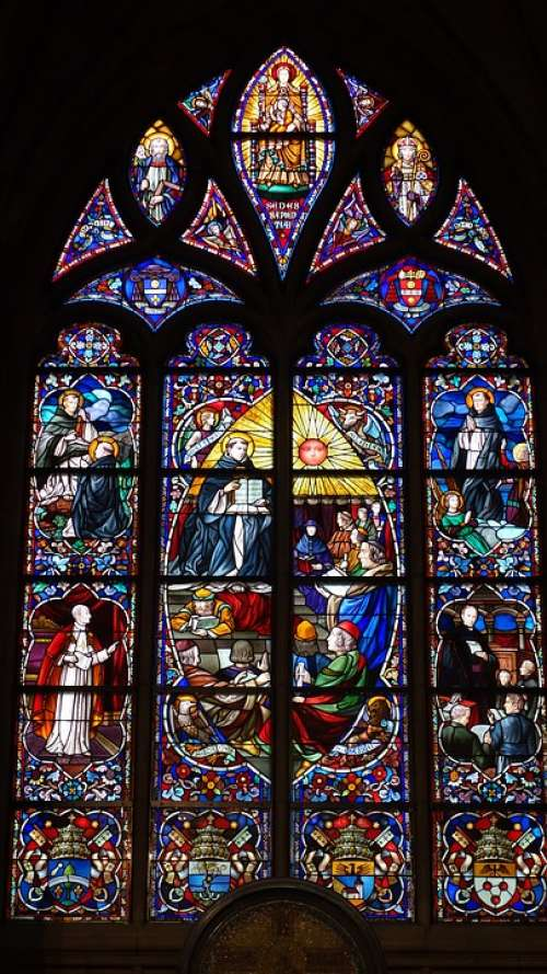 Church Window Stained Glass Window Stained Glass