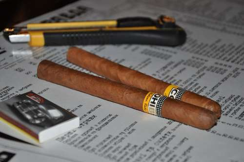 Cigar Cuba Matches Smoking Tobacco