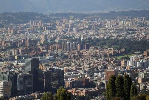 City Bogotá Colombia Architecture Urban Landscape