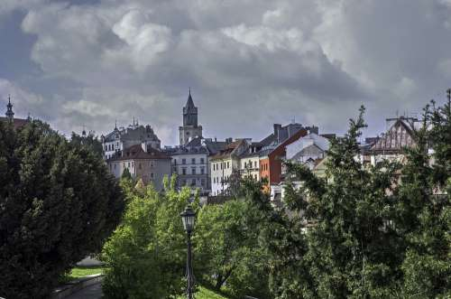 City Architecture Travel Lublin Poland