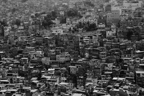 City Urban Slum Favela Buildings Houses