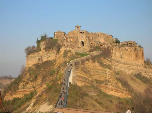Civita Di Bagnoregio The Town That Died Borgo