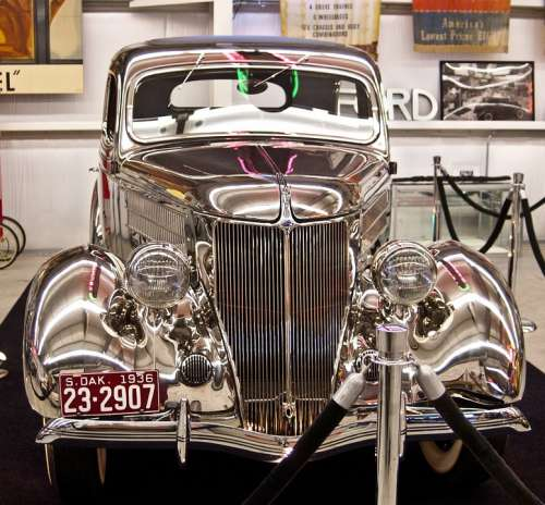 Classic Cars Ford Stainless Steel 1936