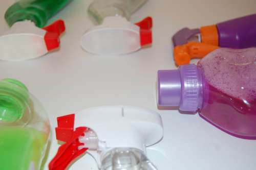 Cleaning Liquid Packaging Do Chores Clean Up