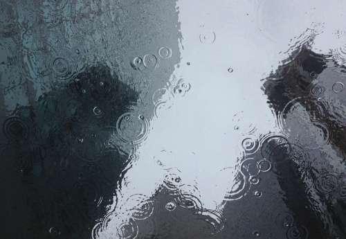 Clear Drop Of Water Droplet Drops Liquid