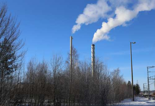 Climate Global Warming Pollution Industry Chimney