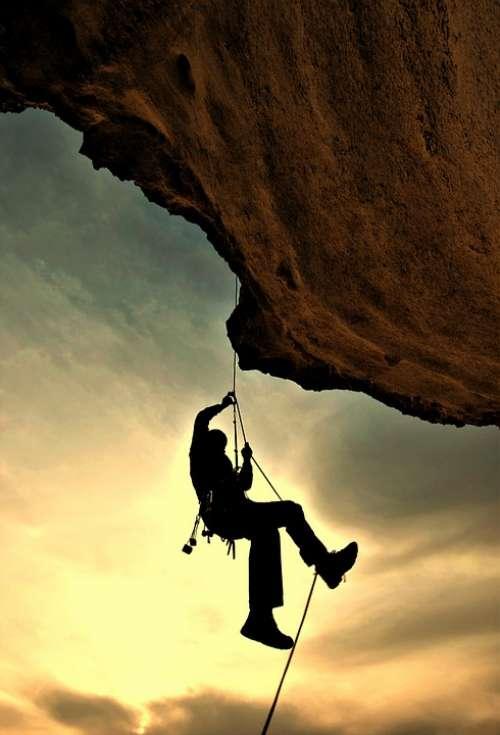 Climber Mountaineer Mountaineering Rock Climbing