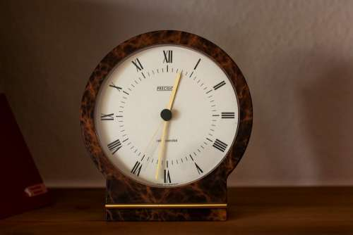 Clock Time Time Of Analog Clock Wood Clock Pay