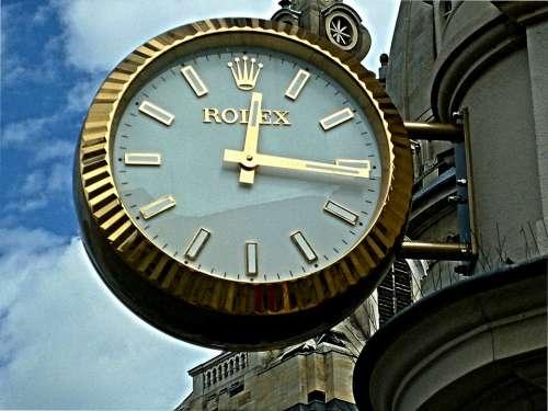 Clock Rolex City Dresden Saxony