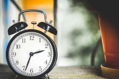 Clock Time Alarm Clock Hour Minutes Morning