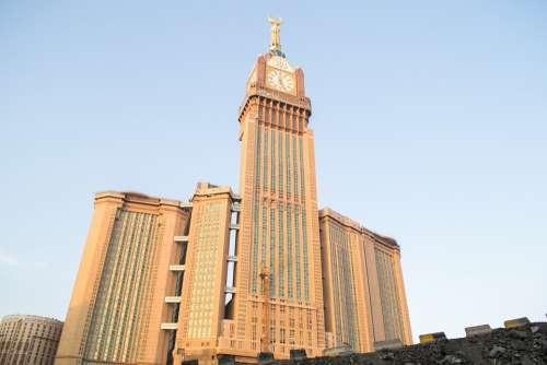Clock Tower Big Clock Clock Makkah Ksa