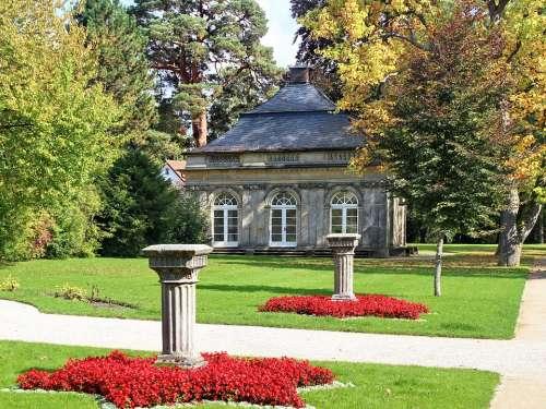 Closed Fantaisie Castle Fantaisie Schlossgarten
