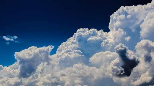 Clouds Cumulus Sky Nature Dramatic Cloudscape