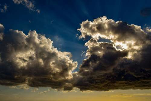 Clouds Cumulus Nature Cloudscape Weather Sky