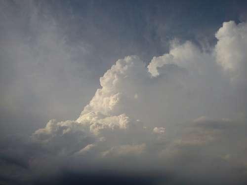 Clouds Cumulus Clouds Sky