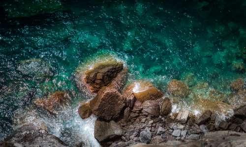 Coast Ocean Rocks Sea Water Shore