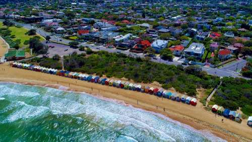 Coast Coastal Beach Seascape Australia Sea Ocean
