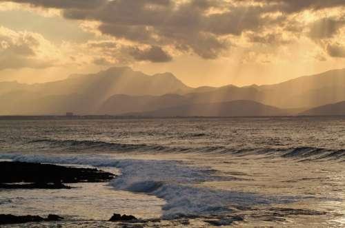 Coastal Landscape Sea Mediterranean Island Coast