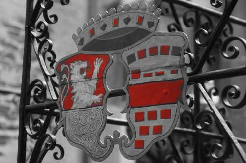 Coat Of Arms Metal Symbol Middle Ages Knight