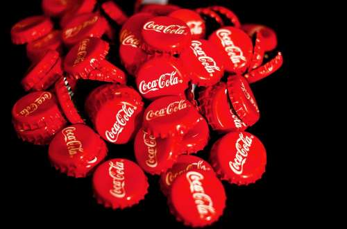 Coca Cola Crown Corks Red Soft Drink Recycling