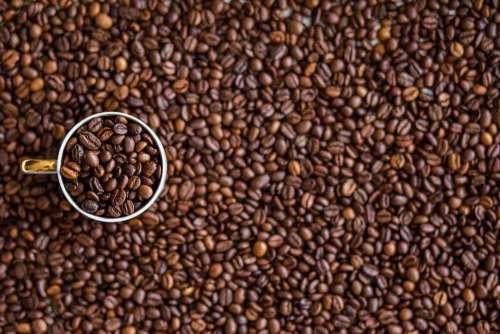 Coffee Coffee Beans Drink Caffeine Beverage Brown