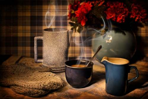 Coffee Winter Warmth Cozy Cup Drink Hot Warm