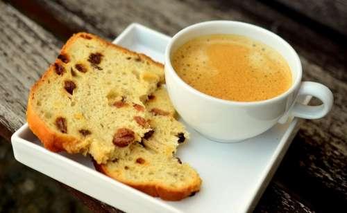 Coffee Coffee Cup Cake Cover Break Foam Caffeine