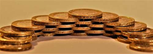 Coins Money Finance Currency Wealth Savings Cash