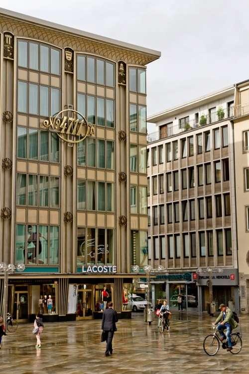 Cologne Dumbbells Shopping Centre 4711 Domplateau