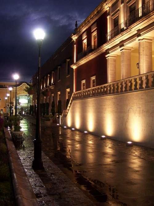 Colonial Mexico Landmark Architecture Building