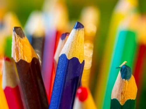 Color Desktop Color Pencils Creativity Draw
