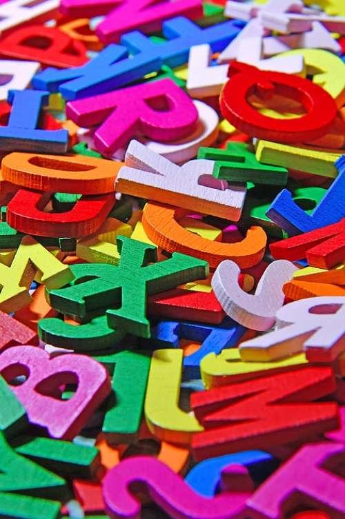 Color Letters Colorful Letters Fresh Falap Design