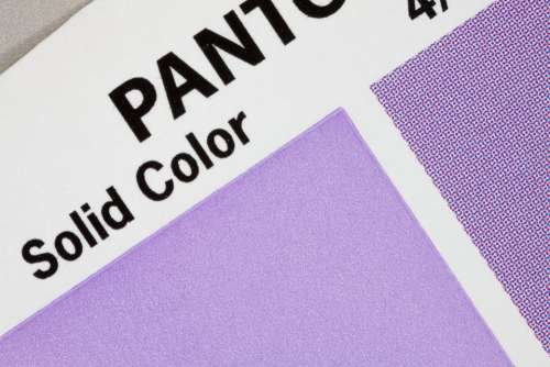 Color Fan Pantone Printing Inks Concentrated Grid