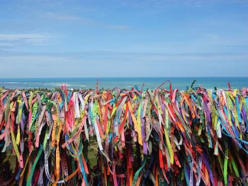 Colored Ribbons Tourism Brazil Summer Camp D'Help