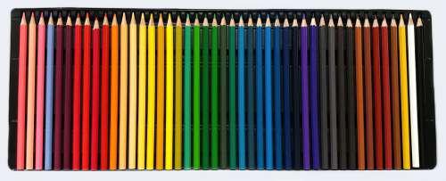 Colors Pencils Color Draw Pencil Stationery
