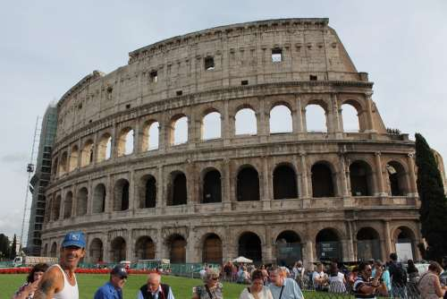 Colosseum Rome Italy Historical Monuments Monument