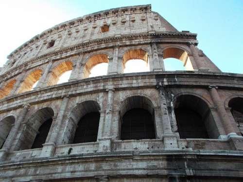 Colosseum Rome Sun Art