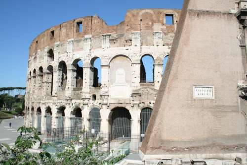 Colosseum Rome Italy Monument Historical Monuments