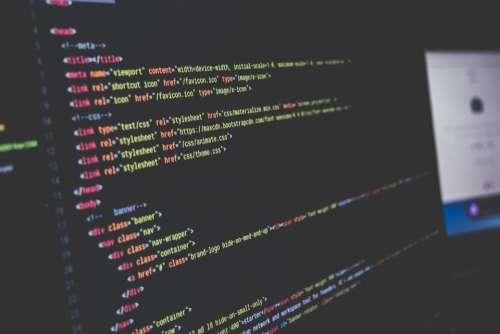 Computer Computer Code Screen Monitor