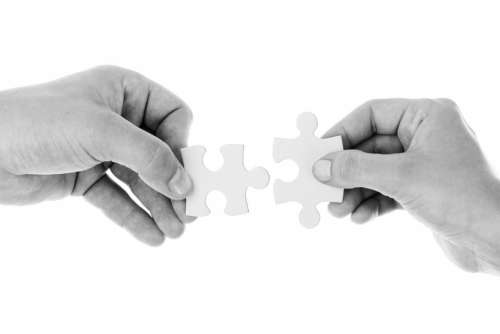 Connect Connection Cooperation Hands Holding