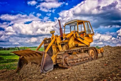 Construction Machine Scoops Blade Shovel Excavators