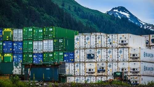 Container Logistics Transport Port Industry Juneau