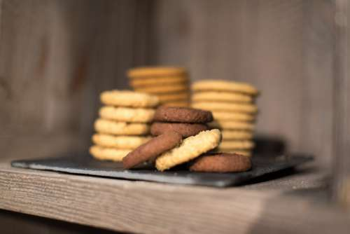 Cookie Cookies Sugar Sweet Food Bakery Eating