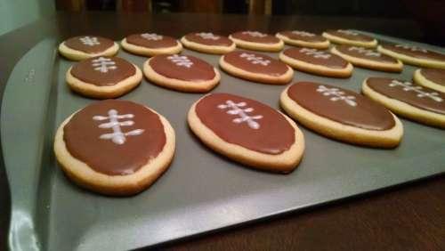 Cookies Football Sugar Cookies Football Treats