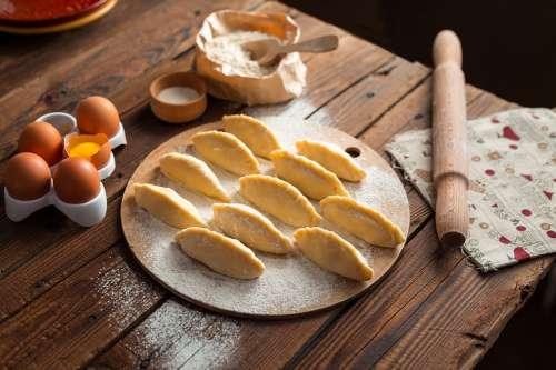 Cooking Pies Vareniki Pelmeni Cook Food Kitchen