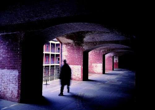 Corridor Shadow A Person