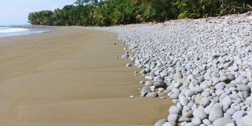 Costa Rica Sea Beach Tropics Central America